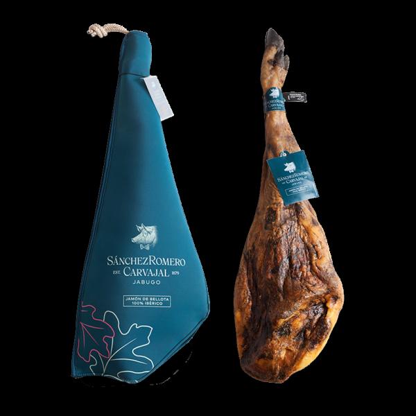 Jamón de bellota 100% ibérico 7-8 kg con y sin funda
